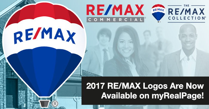 2017 RE/MAX Logos Are Now Available on myRealPage!