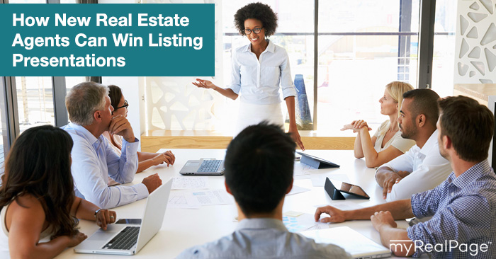 How New Real Estate Agents Can Win Listing Presentations