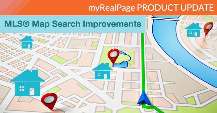 myRealPage IDX MLS map search product update