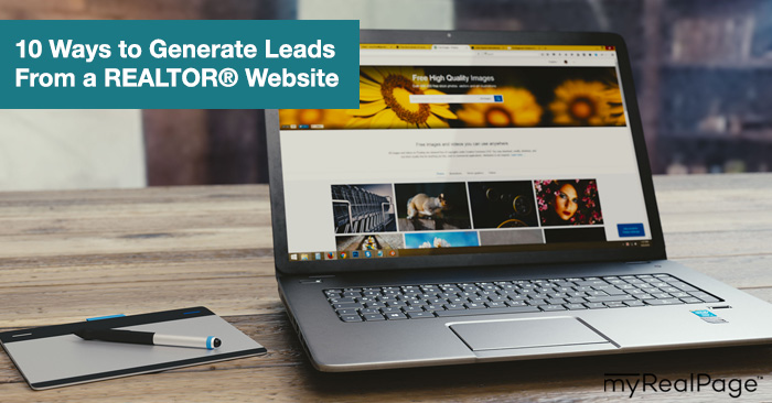 10 Ways to Generate Leads from a Realtor Website