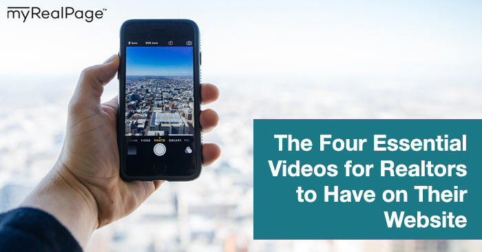 The Four Essential Videos For Realtors To Have On Their Website