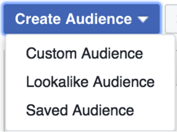 Creating a lookalike audience in Facebook Ads